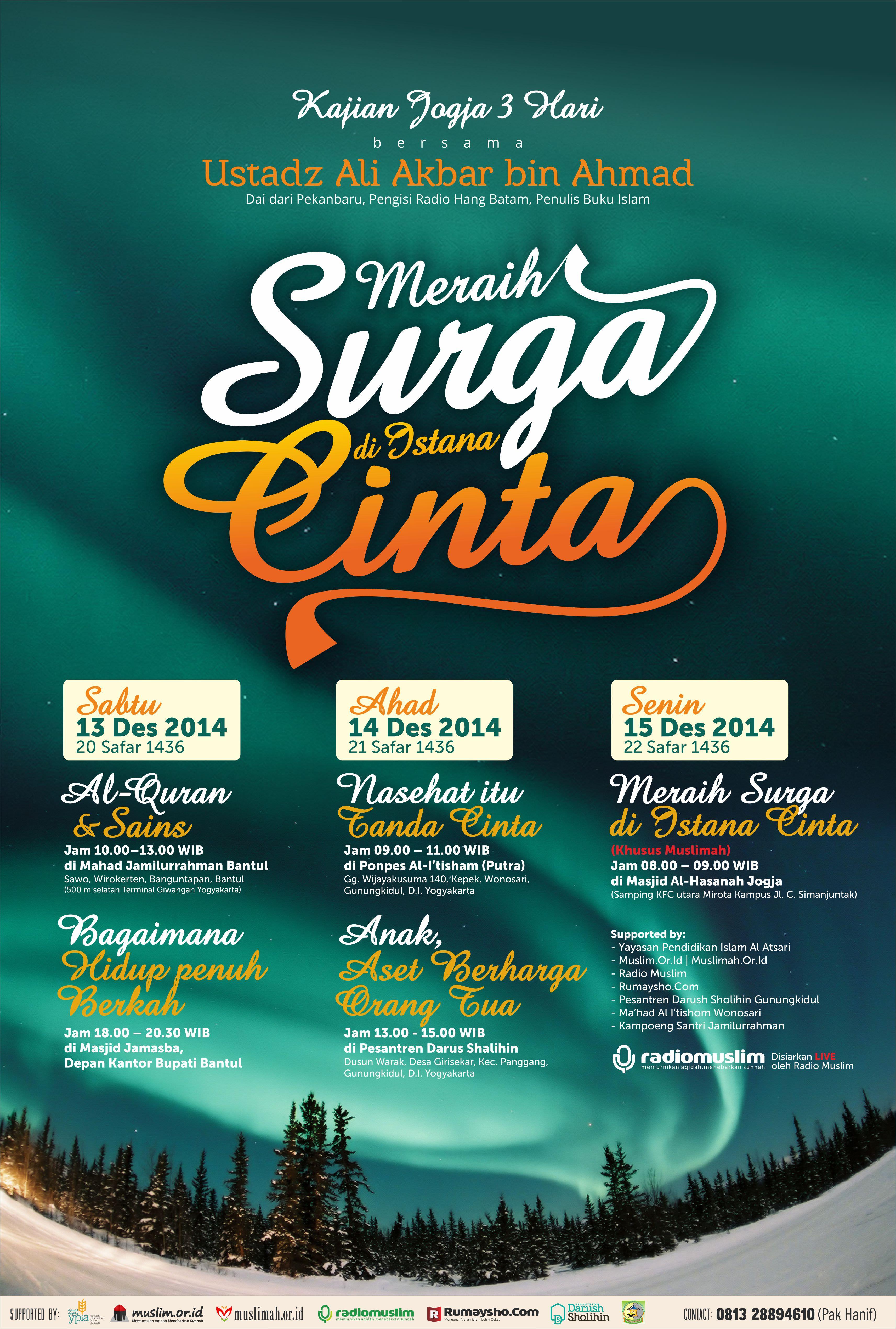 Info Kajian Islam Ahlussunnah Radio Muslim Yogyakarta