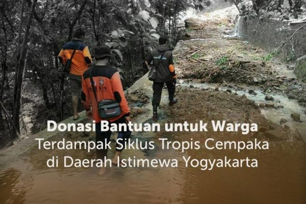 donasi bencana banjir gunungkidul