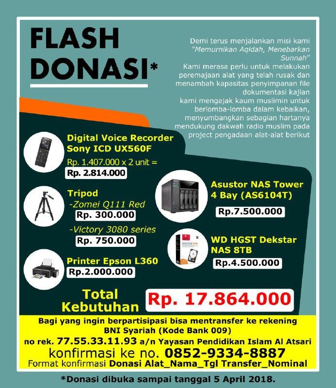 Flash Donasi