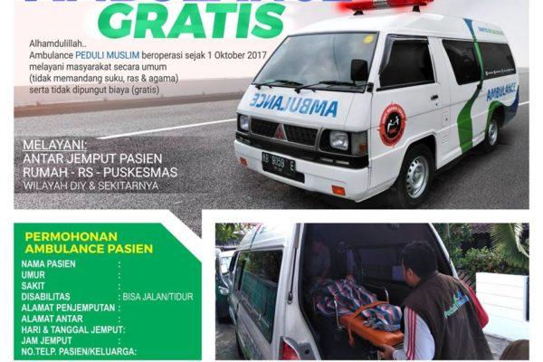 ambulance peduli muslim