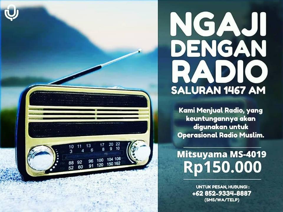 jual radio
