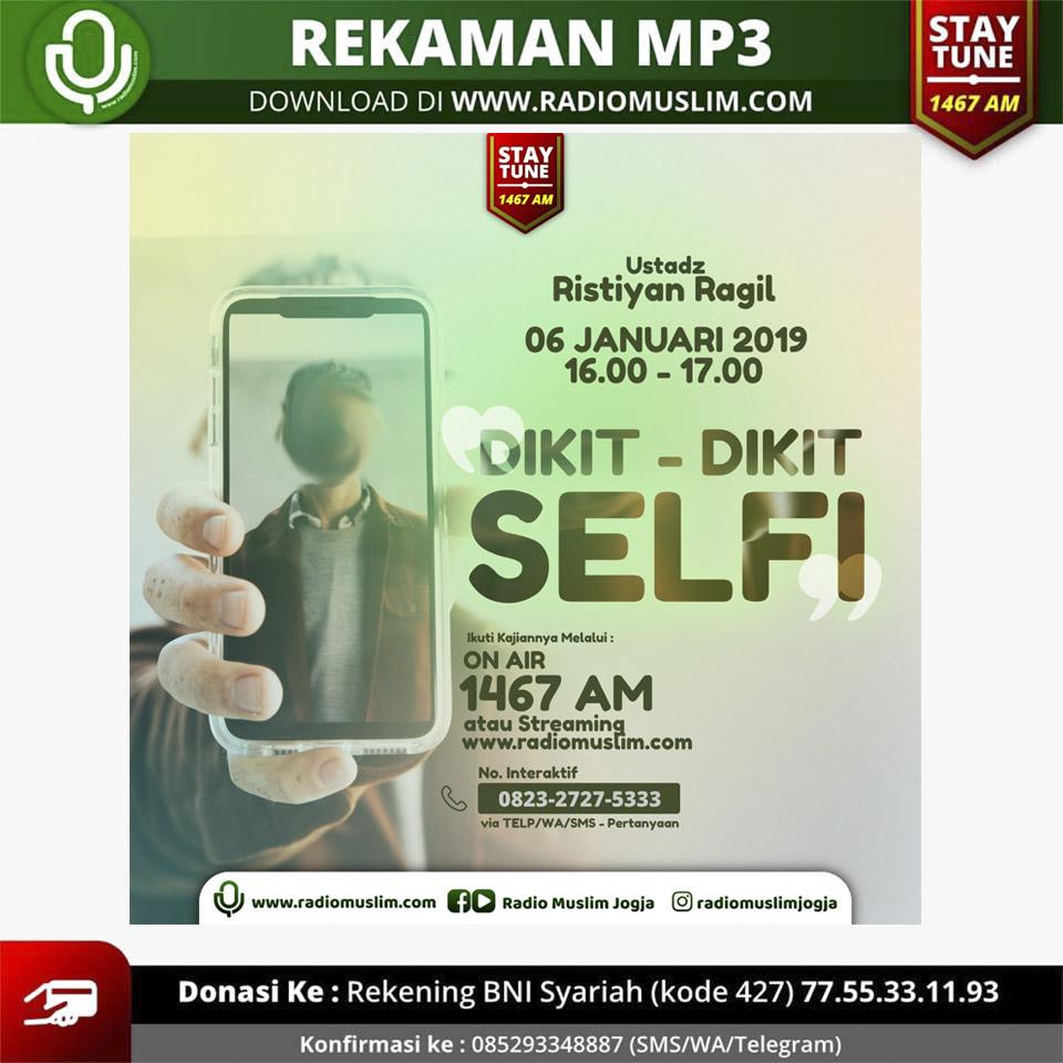 kajian dikit-dikit selfie
