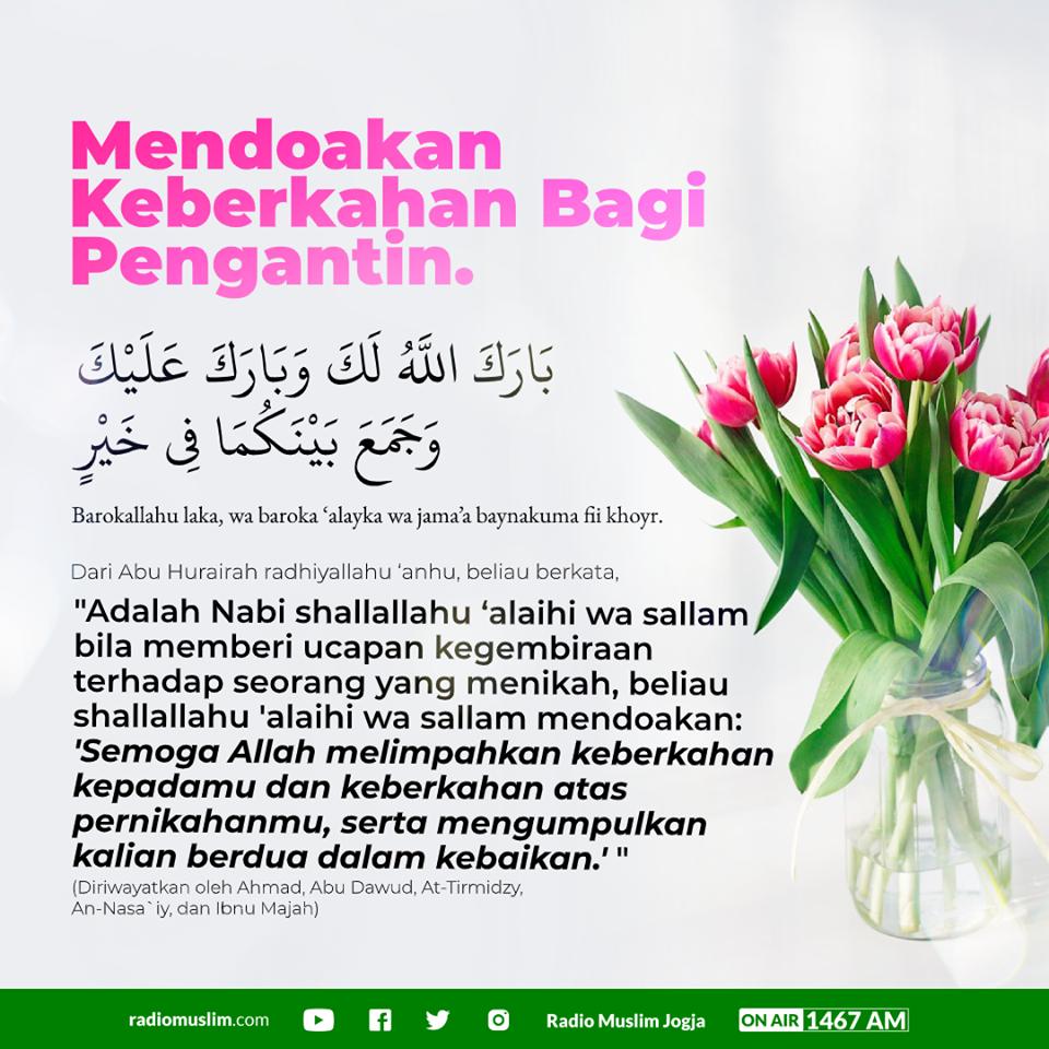 Doa Untuk Pengantin Baru Radio Muslim Jogja